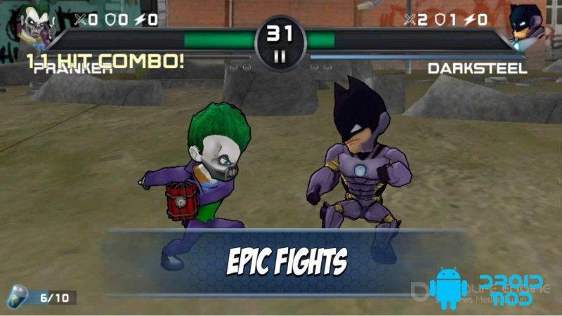 Superheros 3 Fighting Games