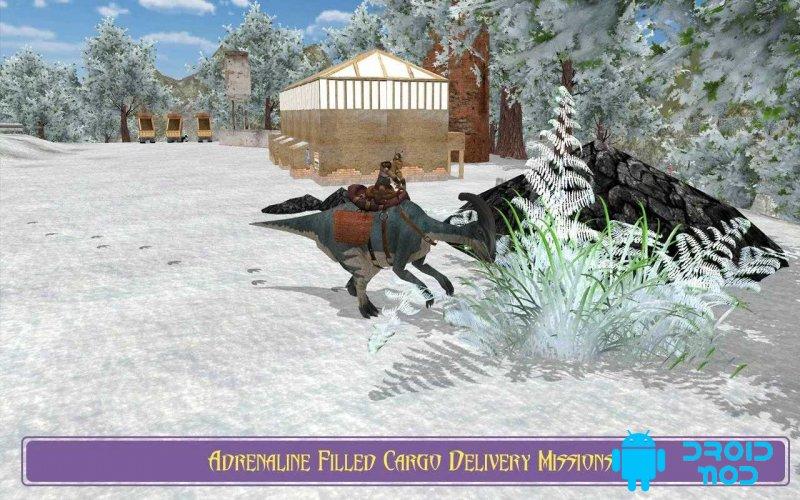 Extreme Dino Rex Snow Cargo
