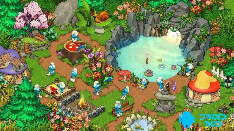 Smurfs' Village Magical Meadow