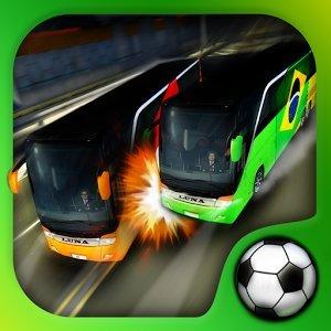 Soccer Team Bus Battle Brazil