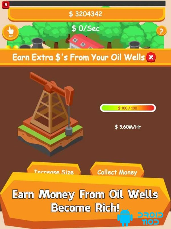 Oil Tycoon – Idle Clicker Game