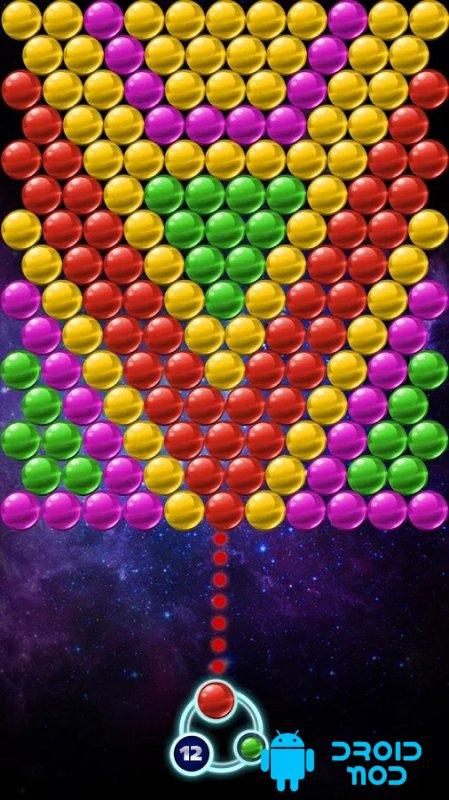 Bubble Space Dash