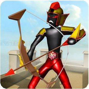 Защитник замка Стикмена - Симулятор битвы зомби