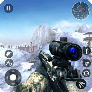 Зимняя гора Снайпер - Современная стрельба