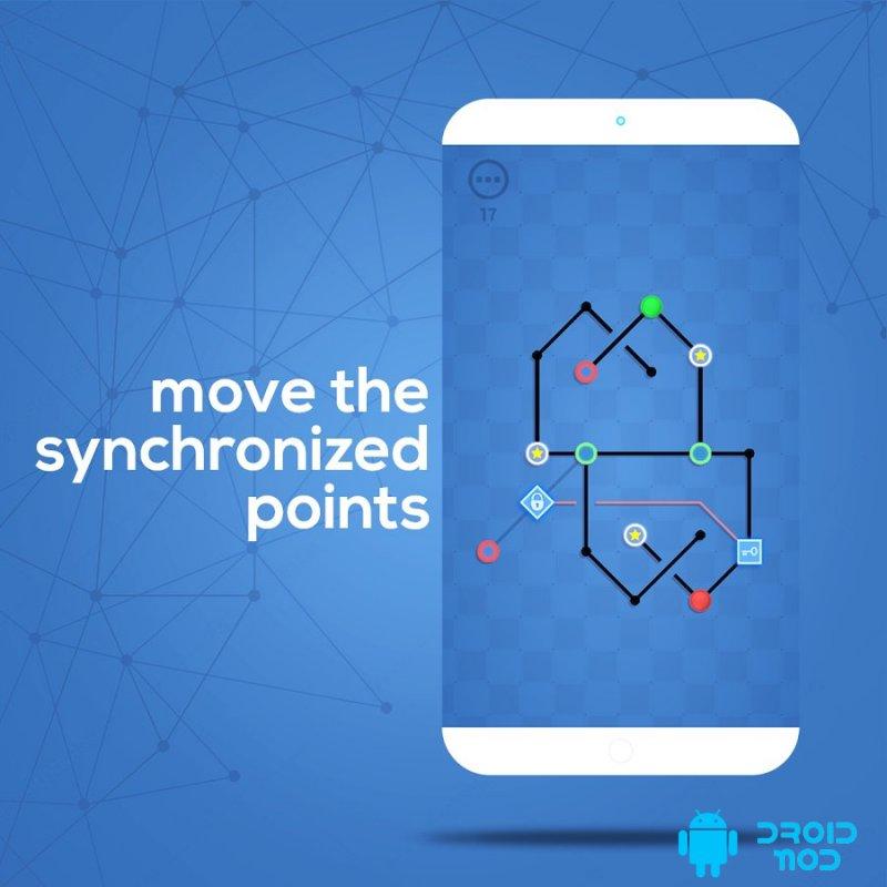 Dots Sync: Symmetric Brain Game