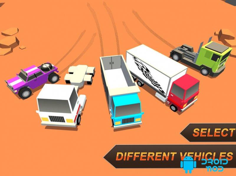 Дрейфующие грузовики: ралли-гонки