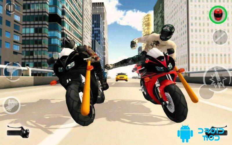 Мотоцикл-гонщик 2018