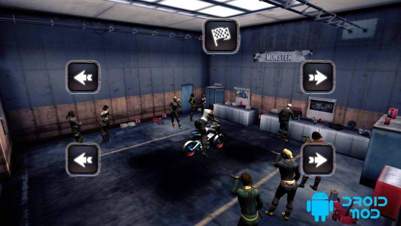 Мотоциклетная игра