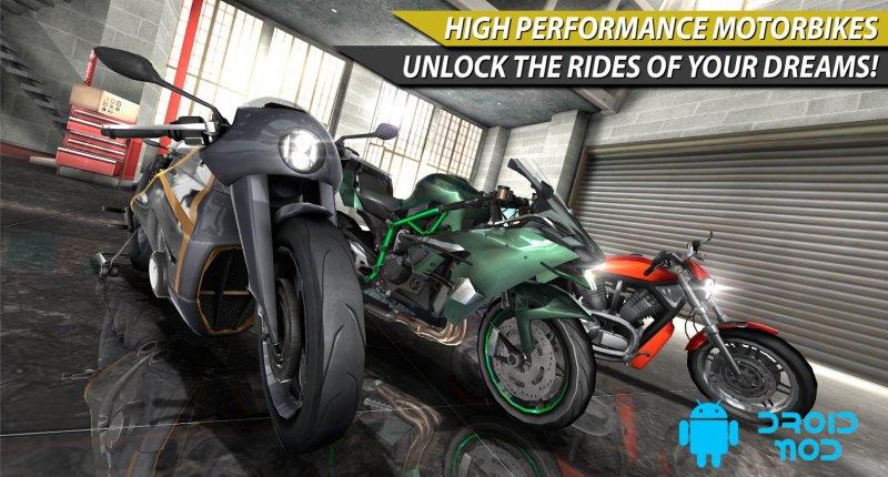 Moto Rider In Traffic