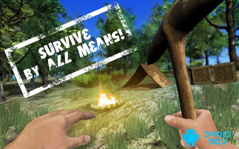 Выживание на острове - Survival island