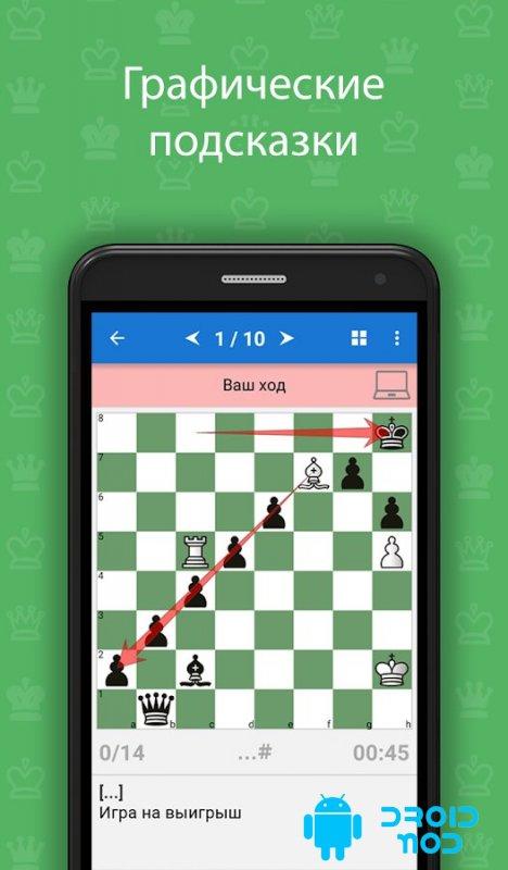 Обучение шахматам - от простого к сложному