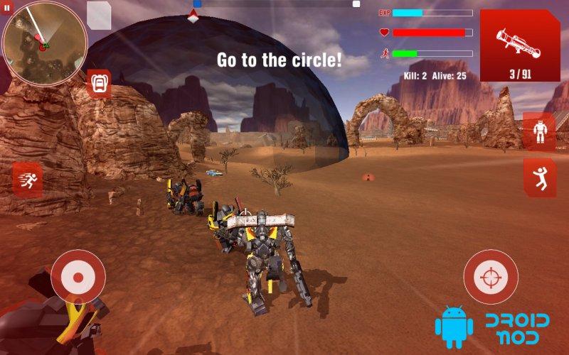 Royal Robots Battleground