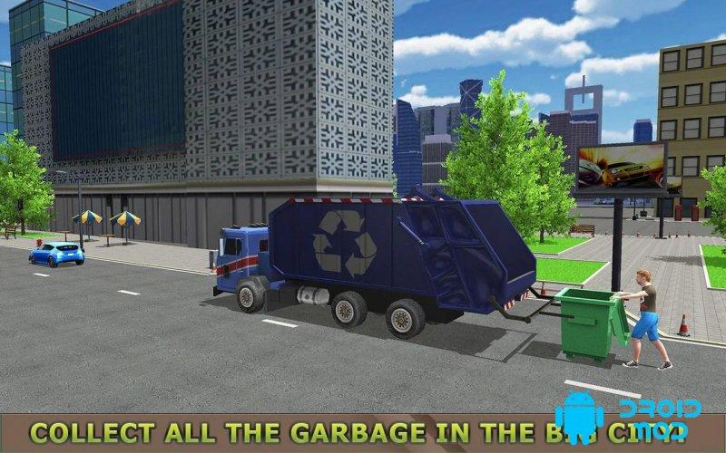 Garbage Truck Simulator PRO 2017