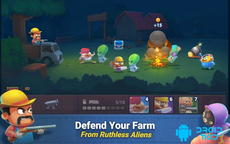 Farm Guns: New Alien Clash