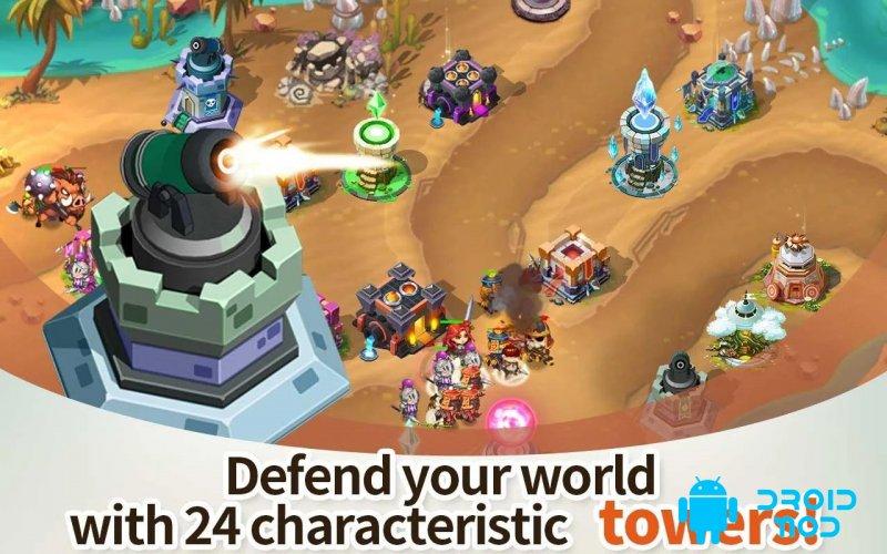 Hero Defense King : TD