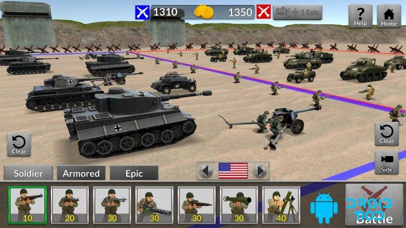 WW2 Battle Simulator