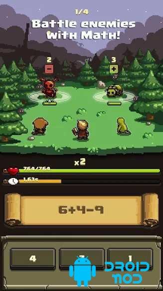 Math and Sorcery - Math Battle RPG