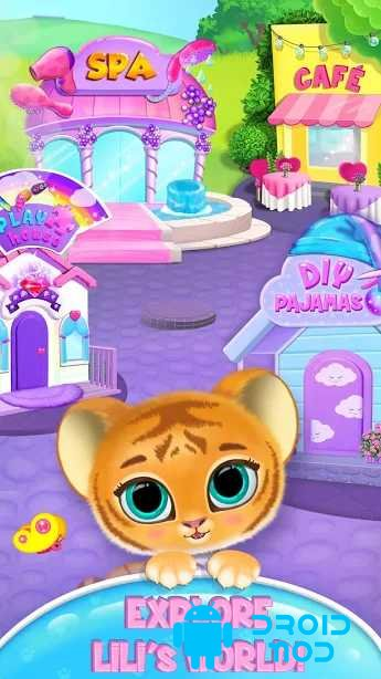 Baby Tiger Care - My Cute Virtual Pet Friend