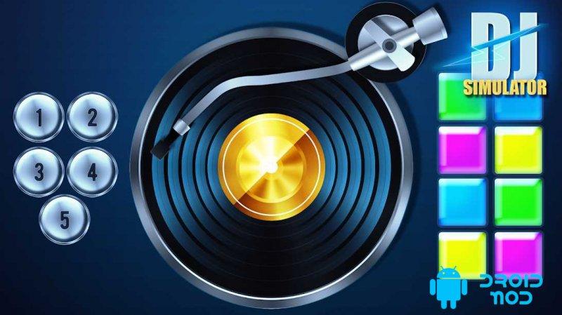 Pretend to be a DJ!