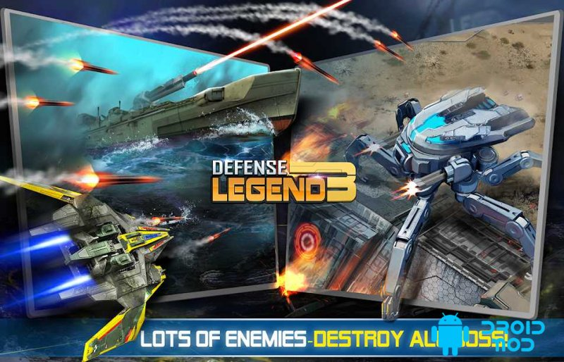Defense Legend 3: Future War