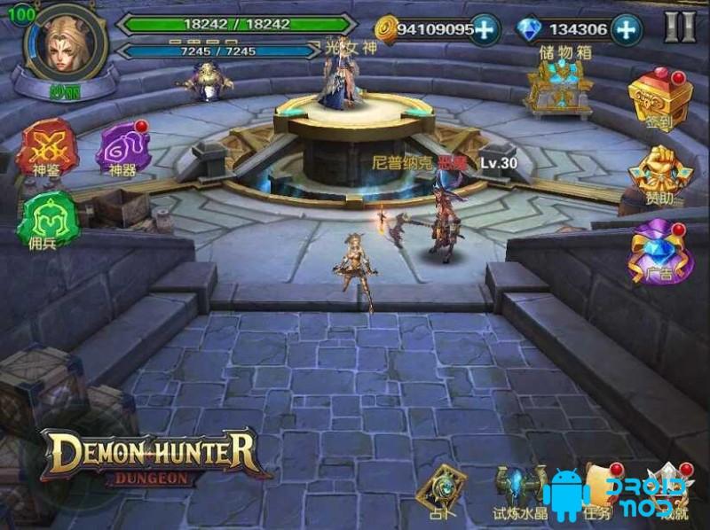 Demon Hunter: Dungeon