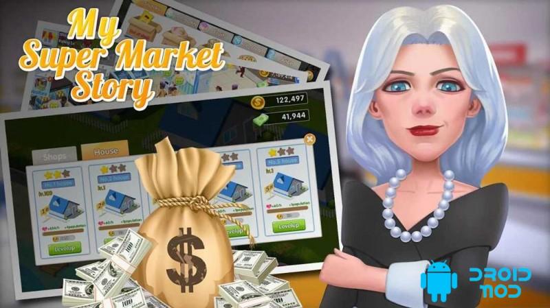 My Supermarket Story : Store tycoon Simulation