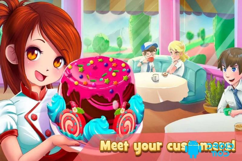 Dessert Chain: Cafe Waitress & Restaurant Chef